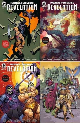 Властелины Вселенной. Откровение. Комплект из 4 выпусков (лимитированные обложки, предзаказ)