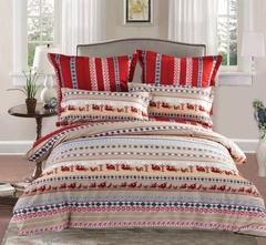 Сатиновое постельное бельё  1,5 спальное Сайлид  В-163