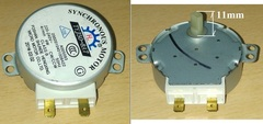 Мотор привода тарелки СВЧ 220/240V, 50/60Hz, 4W, 4rpm, H=8мм TYJ50-8A7