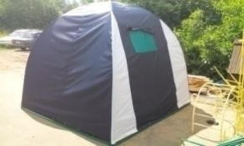 Дачный шатер «Арбуз» 2,5*2,5 , h=2,10 (цвета в ассортименте)