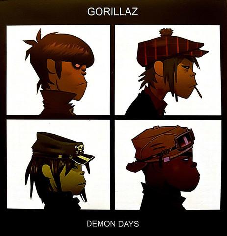 Виниловая пластинка. Gorillaz - Demon Days