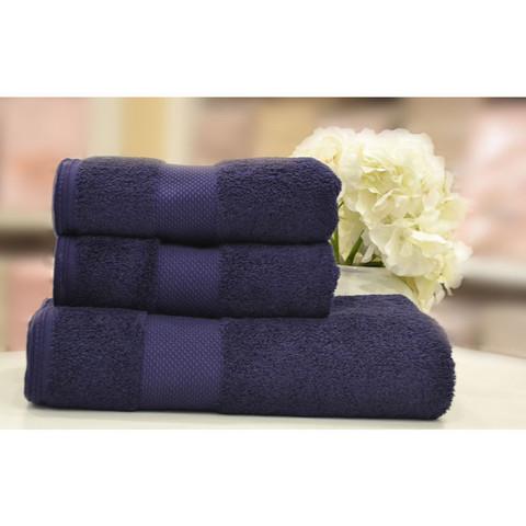 DELUXE-ДЕЛЮКС фиолетовое полотенце махровое Soft Cotton (Турция)