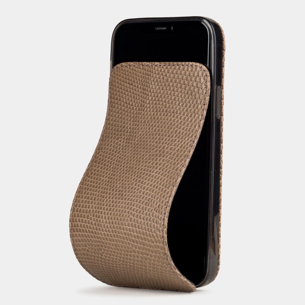 Case for iPhone 12 Pro Max - lizard beige