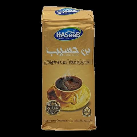 Арабский кофе с кардамоном super extra Cardamon Хасиб HASEEB, 200 гр
