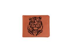 """Купюрница """"Красивый тигр"""", рыжая"""