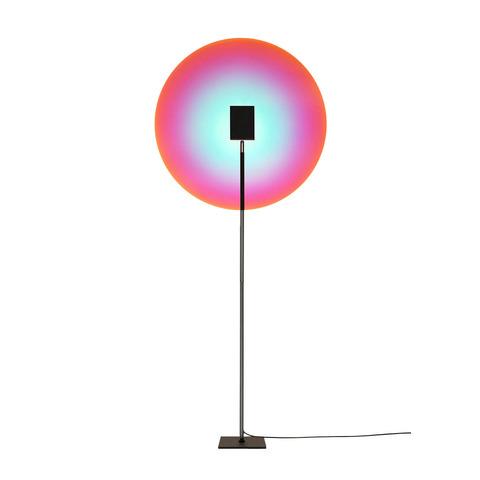 Напольный проектор-светильник Color Projector by Mandalaki Studio (розово-голубой)