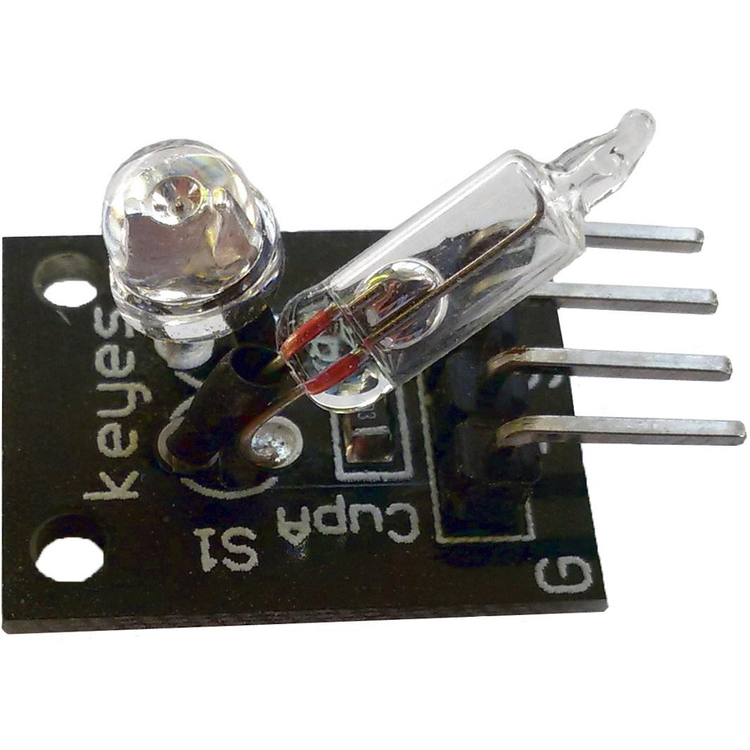 Модуль датчика наклона со светодиодом KY-027 2PCS LIGHT CUP
