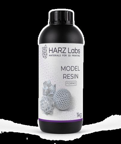 Фотополимер HARZ Labs Model Resin Form2, белый (1000 гр)