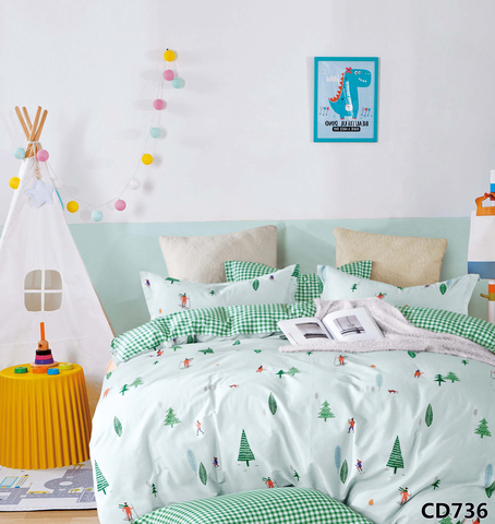 Семейное постельное белье сатин Arlet CD-736