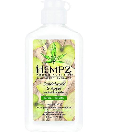 Hempz - Уход за лицом: Гель для бритья Сандал и Яблоко (Sandalwood & Apple Herbal Shave Gel), 177мл