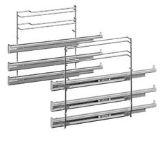 Телескопические направляющие для 3-х уровней духовки Bosch, Siemens 577328