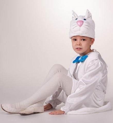 Костюм Кот белый