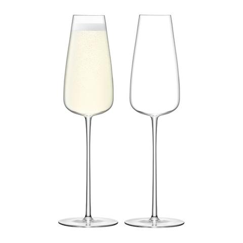 Набор из 2 бокалов-флейт Wine Culture, 330 мл