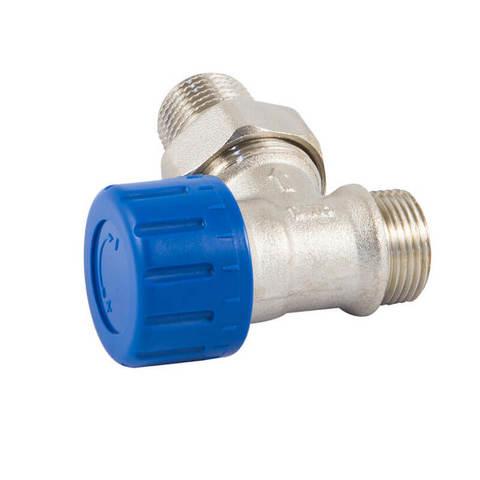 Клапан термостатический угловой DN 15 GZ 1/2 x M22 x 1,5GZ