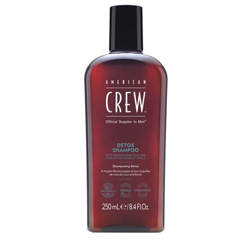 American Crew Classic: Детокс шампунь для мужчин (Detox Shampoo), 250мл