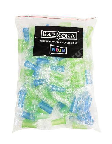 Мундштуки одноразовые Neon - 100 штук (Цветные)
