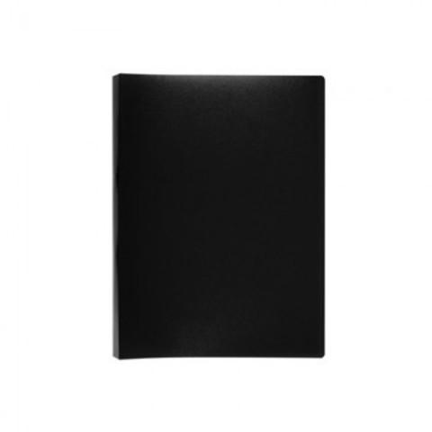 Папка с зажимом Attache А4 0.45 мм черная (до 150 листов)