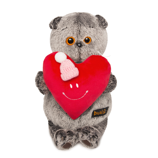 Кот Басик с сердечком