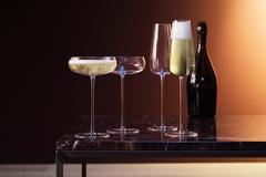 Набор из 2 бокалов-флейт Wine Culture, 330 мл, фото 2