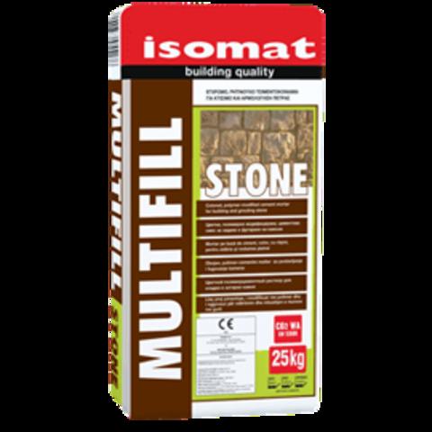 Isomat Multifill Stone/Изомат Мультифил Стоун цветной полимерцементный раствор для кладки и затирки натурального или искусственного камня на стены и пол