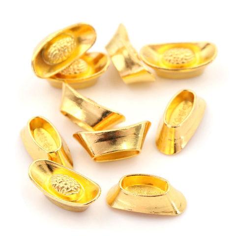 Золотые слитки м