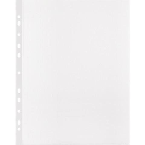 Файл-вкладыш Attache Economy Элементари А4 45 мкм прозрачный гладкий 100 штук в упаковке