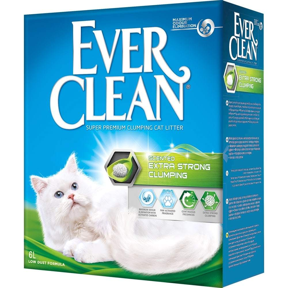 Купить Ever Clean Extra Strong Clumping Scented