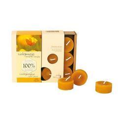 Свечи чайные TL120 из пчелиного воска 18 шт (Dipam)