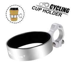 Держатель для стакана/термоса на руль West Biking silver - 2