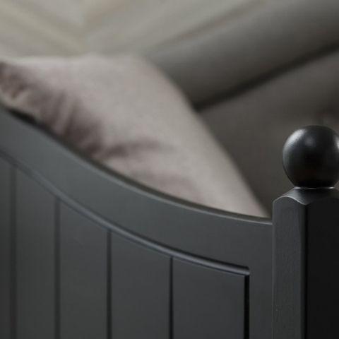 Тахта кровать Айно 9 с мягким изголовьем