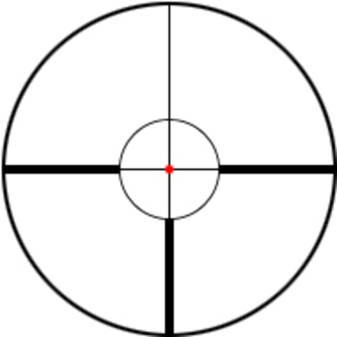ПРИЦЕЛ SCHMIDT & BENDER СЕРИИ ZENITH 1,5-6X42 LM (ПОД КОЛЬЦА 30 ММ) FD9 С ПОДСВЕТКОЙ