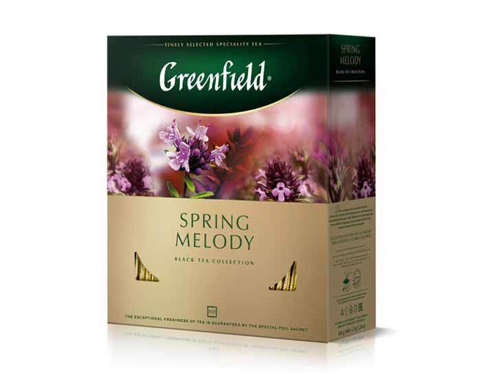 Greenfield Spring Melody, 100 пак/уп