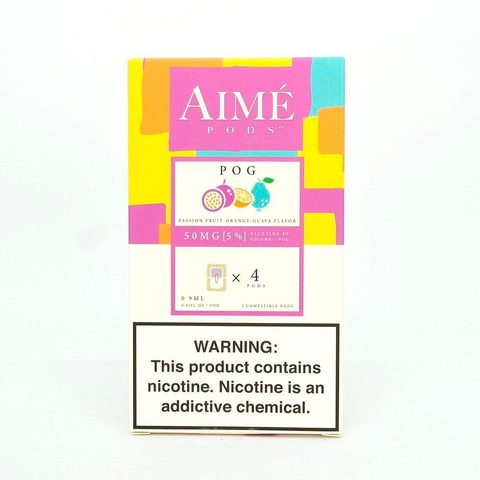 Сменный Картридж для JUUL Aimé Pods - Маракуйя, Апельсин, Гуава х4, 50 мг