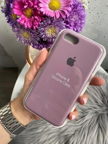 Чехол iPhone 8/7 Silicone Case Full /blueberry/