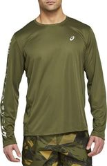 Рубашка Asics Katakana LS Top Green мужская