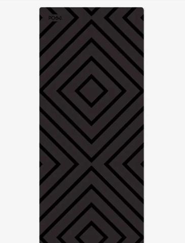 Коврик для йоги travel Non slip Black Accord  183*61*0,2 см