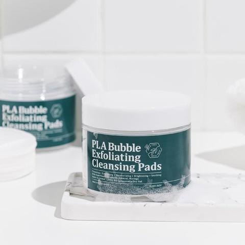 Очищающие пилинг пэды BEAUTREE PLA Bubble Exfoliating Cleansing Pads, 30ea