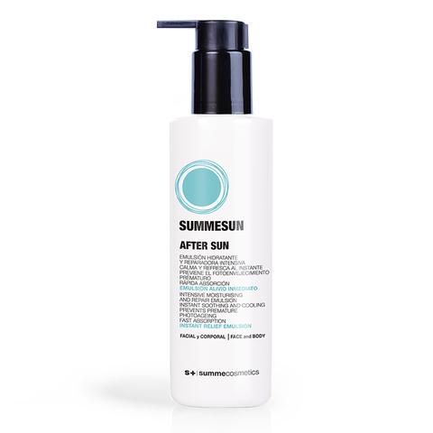 SUMMECOSMETICS S+ |  Успокаивающая и увлажняющая эмульсия после загара / Intensive Moisturising and Repair Emulsion, (200 мл)