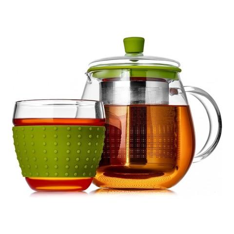 Чайник заварочный Walmer Mint Tea (1 литр), зеленый
