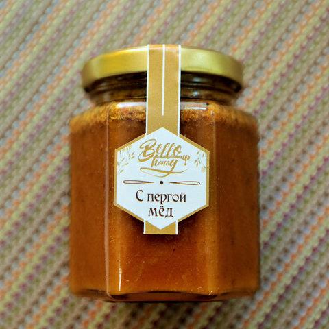 Медовик мёд с пергой 200 мл