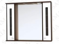 Зеркало-шкаф SanMaria Париж-80 белый, 2 ящика