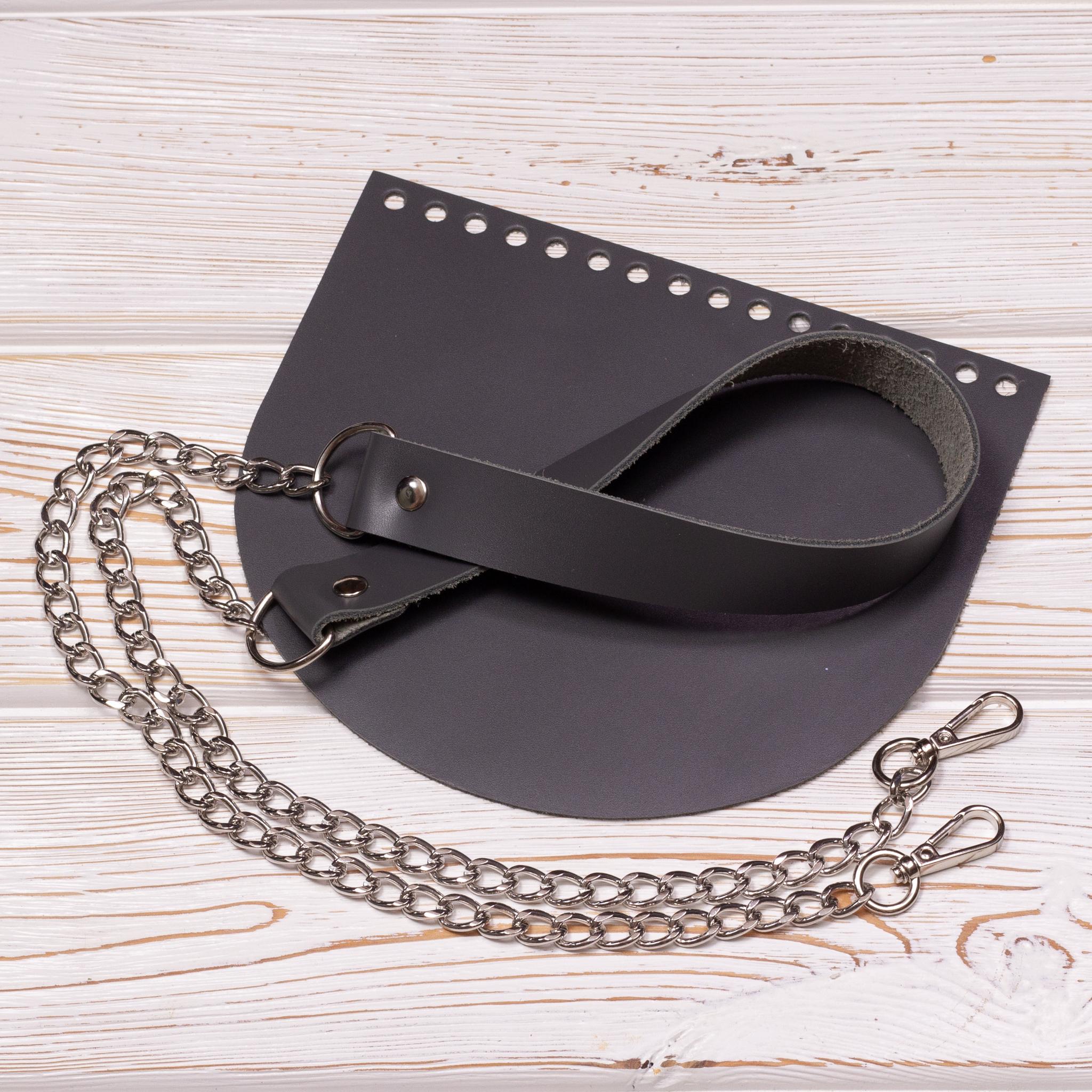 """Каталог Комплект для сумки """"Серый"""" IMG_2358.jpg"""