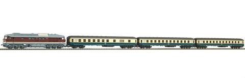 Piko 58114 Тепловоз Interzone train D 439 с пассажирскими вагонами, 1:87