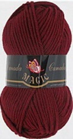 Пряжа Canada (Magic) 3716 Вишневый фото