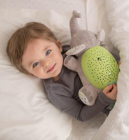 Светильник-проектор звездного неба Summer Infant Grey Elephant