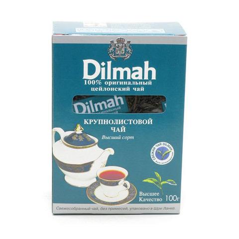 Dilmah чай черный крупнолистовой МИНИМАРКЕТ 0,2