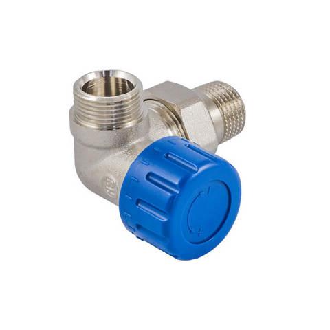 Клапан термостатический трехосевой правый DN 15 GZ 1/2 x M22 x 1,5GZ