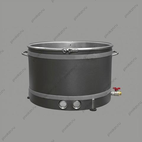 """Куб ХД-УК/76 литров серии D530 с клампом 2"""" под ТЭН"""