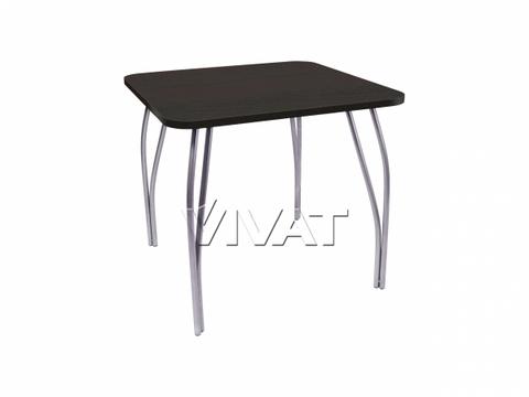 Стол обеденный квадратный LС (OC-11) Черное дерево