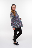 Блузка для беременных 07930 серый